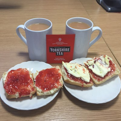 Cream Tea for Action Medical Research