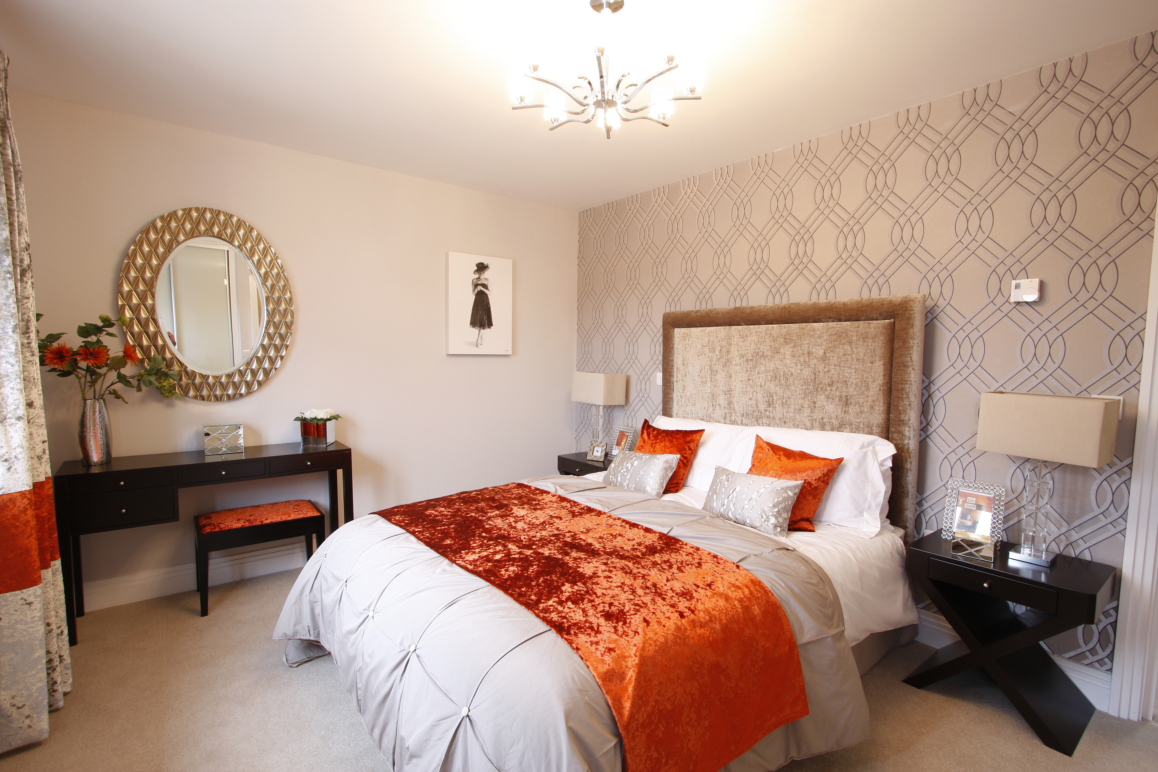 New show home opening soon at the russets horsham for Show bedroom designs