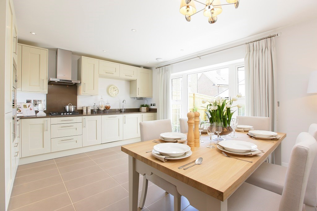 Cedars Park Show Home Kitchen/Dining