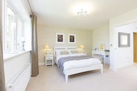 Cedars Park Show Home Bedroom